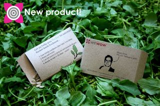 Wewow experts in cddvd duplication replication and eco the seedcard is a bespoke business card printed on 100 recycled board and filled with rocket lettuce seeds other varieties to become available reheart Gallery